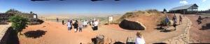 Atop the Golan.