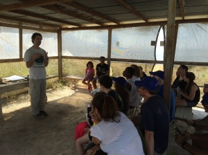 Our last presentation of the tour, highlighting that the dig, and the tour, used the history of Israel (both the people and the land) to make modern Israel come alive. Our Judaism...is now tangible.